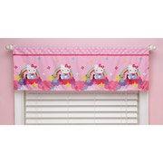 Hello Kitty Stars and Rainbows Window Valance