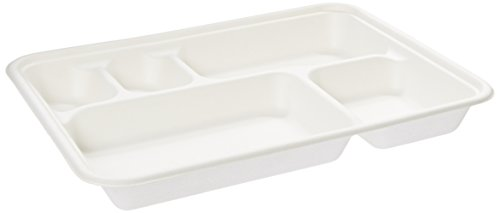 5 compartment tray - 8