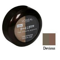 L'Oreal Paris HiP Studio Secrets Professional Concentrated Shadow Duos, Devious, 0.08 Ounce (Loreal Hip Pure Pigment)
