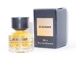 Jil Sander No 4 by Jil Sander for Women. 0.25 Oz Parfum Splash