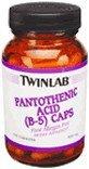 Pantothenic Acid Caps 500 mg 100 Caps Review