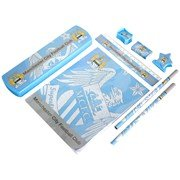Manchester City Fc Pp Football Stationery Set Official by Linenideas