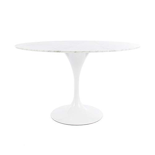 Modern Onion Saarinen Inspired Tulip Style Round Dining for sale  Delivered anywhere in USA