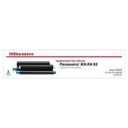 - Office Depot(R) Brand 1030 (Panasonic Kx-Fa92) Thermal Fax Ribbons, Pack Of 2