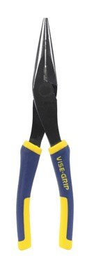 IRWIN VISE-GRIP Long Nose Pliers with Wire Cutter, 8