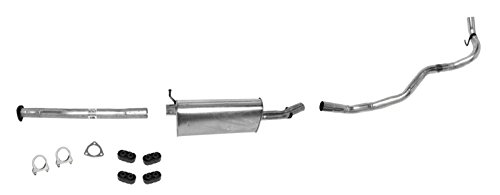 Mac Auto Parts 139216 S Pick Up Muffler Exhaust Pipe System 4X2 2.2 7 WB - Gmc Sonoma Exhaust System