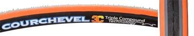 Maxxis Courchevel Tire M201A2 Orange/Gray/Black, 700c x 23 by Maxxis
