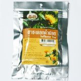 Safflower TEA Herbal (2gramx 10 Small Bags) X 12 Packs for Health From Thailand Thai Herb Abhaibhubejhr Product of Thailand