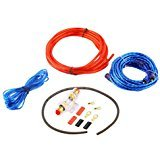 Catuo Amplifier Installation Kit 8GA Car Audio Subwoofer Wire AMP Wiring