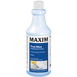 Midlab True Blue Toilet Bowl Cleaner, 9% Hydrochloric Acid, Quart (Case of 12)