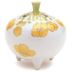 香炉 流麗 菜の花 (九谷焼) 【日本香堂】 B005EE7V0E
