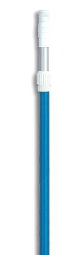 6-12 ft Adjustable Blue Aluminum Swimming Pool Telescopic Pole