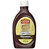 ice cream flavored gum - Gefen Sugar Free Chocolate Flavored Syrup Gluten Free KFP 18 Oz. Pk Of 6.