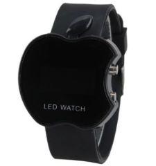 Acorn-LED-Digital-Black-Dial-Apple-Shape-Kids-Watch-Black