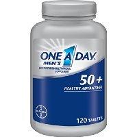 One A Day Men's 50 Plus Advantage Multi-Vitamins, 120 Cou...