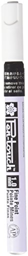 Sakura Metal Pen (Sakura XPMKA-49 Pen Touch Low Odor Permanent Paint Marker, Xylene-Free, 1 mm Fine Tip, 138 mm Size, 5.5