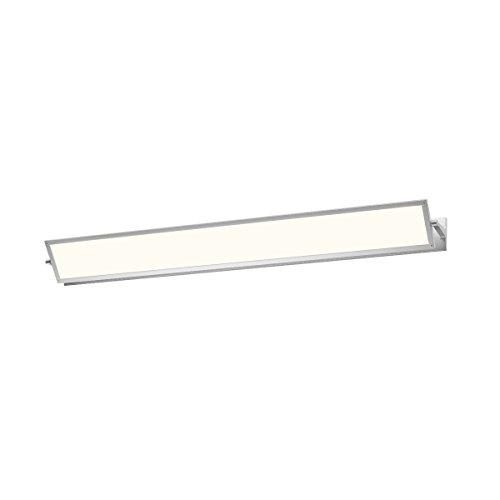 (Sonneman 2704.16, Aileron Wall Vanity Lighting, 1 Light LED, Aluminum)