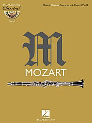 - Hal Leonard Mozart: Clarinet Concerto In A Major, Kv 622 Classical Play-Along Book/CD Vol.4