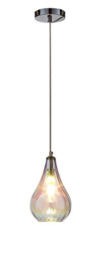- Ove Decors Bose II Colorful Glass Pendant Light