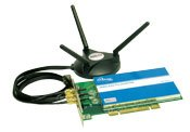 Airlink AWLH5025 MIMO XR 802.11g Wireless PCI Adapter