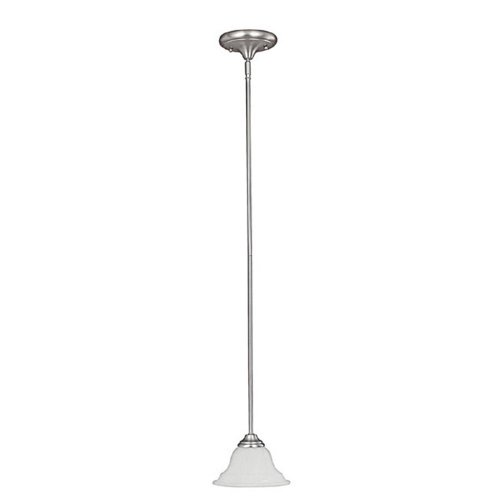 Capital Lighting 3070MN-222 Mini Pendant with Faux White Alabaster Glass Shades, Matte Nickel Finish - Faux Alabaster Mini Pendant
