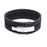 Inzer Advance Designs Forever Lever Belt 10MM (Black, X-Small) by Inzer (Image #1)