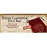 A Song Ice & Fire Miniatures Game: House Lannister Dice Bag (Kickstarter Exclusive)