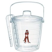 Tervis 1065491 Auburn Tigers Aubie Insulated Tongs with Emblem Lid-Boxed, 87oz Ice Bucket, Clear