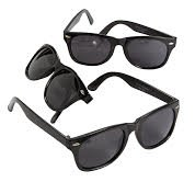Plastic Black Nomad Sunglasses (Qty. - Sunglasses Express