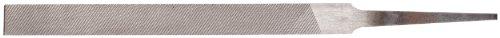 "Nicholson Pillar File, Swiss Pattern, Double Cut, Rectangular, #0 Coarseness, 4"" Length"