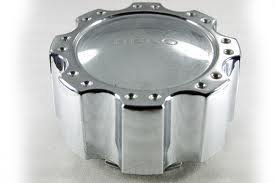 Helo Wheel Cap Large Chrome - Chrome Large Center Caps