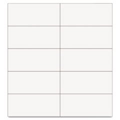 MasterVision Dry Erase Magnetic Tape Strips, 2 x 0.87 Inches White, 25/Pack (BVCFM2418)