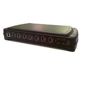 USB1007-7 Port, 4kV Isolation, Rugged & Industrial Grade USB Hub ()