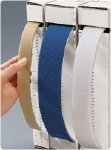 R Securable Strapping Material Strapping Material. Dimensions: 1½'' x 10 yd. (3.8cm x 9m) Royal Blue/White