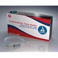 Dynarex Tracheostomy Tube Holder, Adult, Box/10 by Dynarex