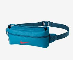 NIKE Team Training Men\'s Belt blue Light Blue Lacquer/Blue Force/Bright Crimson Size:35 x 13 x 13 cm, 5 Liter