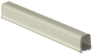 10' Ivory HBL750 Series Metal Single-Channel Raceway Base & Cover, (Package of 10)
