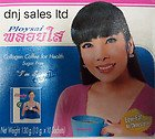 6x Ploysai Collagen Coffee 10 Sticks Per Box Diet Weight Loss New Sealed From Thailand