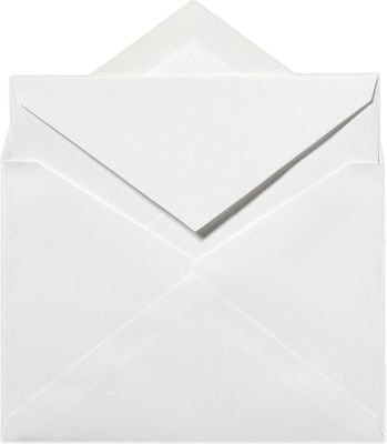 Envelopes Outer - 5 1/2 x 7 3/4 Outer Envelopes - 70lb. Bright White (250 Qty) | Perfect for Invitations, Announcements, Sending Cards | Printable | 70lb Paper | SIVV916-250