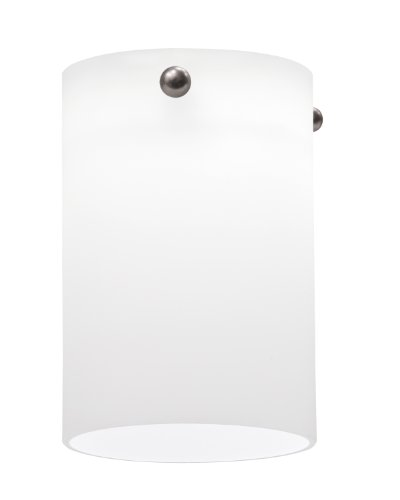 Lithonia Lighting DSCL 1001 M6 Decorative Short Cylinder Shade, Opal White