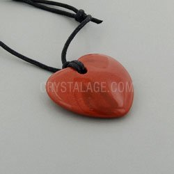 - CrystalAge Leo Birthstone Necklace - Goldstone Heart
