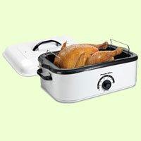 Proctor Silex 18-Quart Portable Kitchen Countertop Roaster Oven, White   32190Y