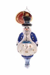 Christopher Radko ADORNED GENTLEMAN Snowman 6010167