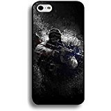 Iphone 6 / 6s ( 4.7 Inch ) Game CSGO Logo Case Cover,Hipster Solider Design FPS Game Counter Strike Phone Casefor Iphone 6 / 6s ( 4.7 Inch ) Dazzling Characters Cover Shell