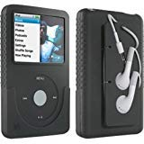 (DLO Jam Jacket with Cord Management for the 80/120 GB iPod classic 6G (Black) (Bulk Pack))