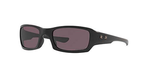 Oakley Fives Squared Sunglasses / Matte Black / Prizm Grey Lens - ()