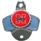 wall bottle opener ncaa - NCAA Nebraska Cornhuskers Wall Bottle Opener