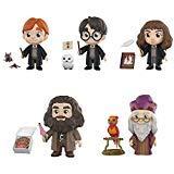 5 Star Harry Potter, Hermione Granger, Ron Weasley, Albus Dumbledore, Rubeus Hagrid Vinyl Figures Set