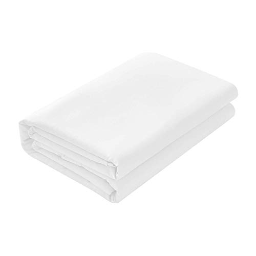 Daily Delight Linen Cool Touch Percale 100% Egyptian Cotton 350 Thread Count King Flat Sheet in ()