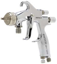 Binks 7041-6931-1 Sv100 Pressure Feed Hvlp Spray Gun